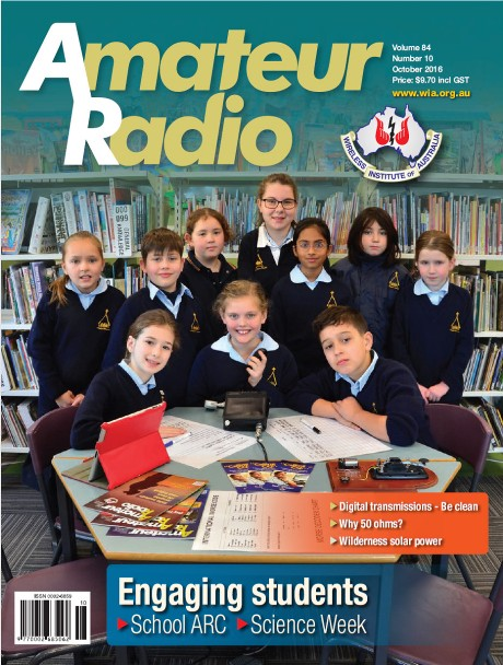 School Amateur Radio Clubs - Article