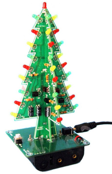 Electronic Christmas Tree - Assembled