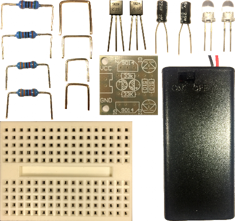 Electronic Prototyping Workshop Kit - Parts