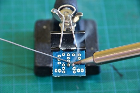 Soldering a PCB with Lead-Free solder