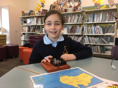 SARCNET School Library STEM session with Amateur Radio